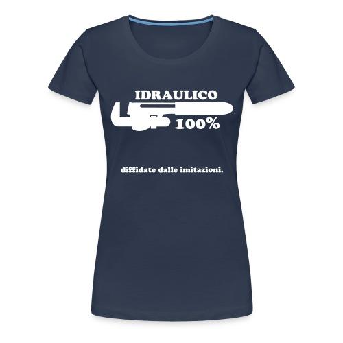 Idraulico 100% - Maglietta Premium da donna