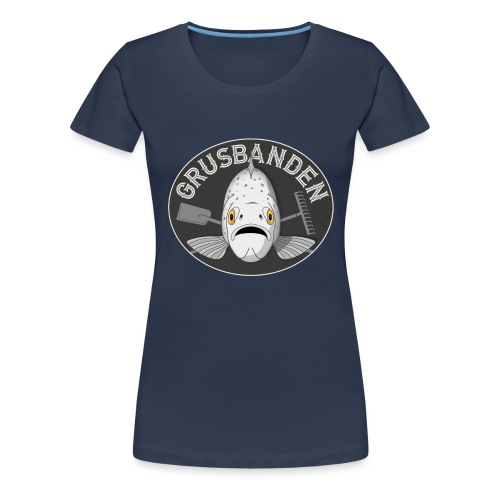 Grusbanden - Dame premium T-shirt