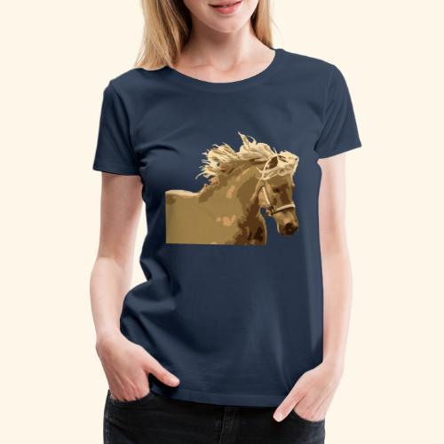 shetland - Frauen Premium T-Shirt