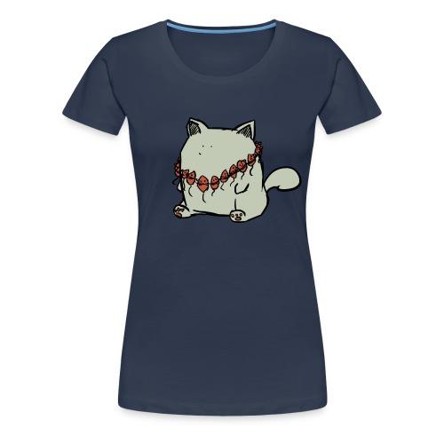Parker, die Katze - Frauen Premium T-Shirt
