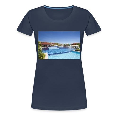 splendide piscine - T-shirt Premium Femme