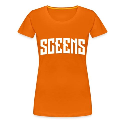 Sceens Baseball Cap - Vrouwen Premium T-shirt