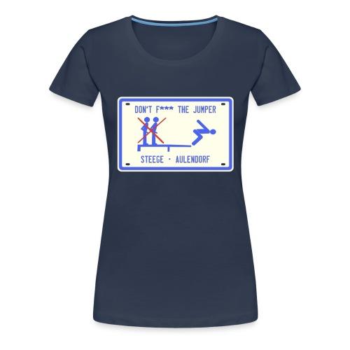 Steege - Schild - Frauen Premium T-Shirt