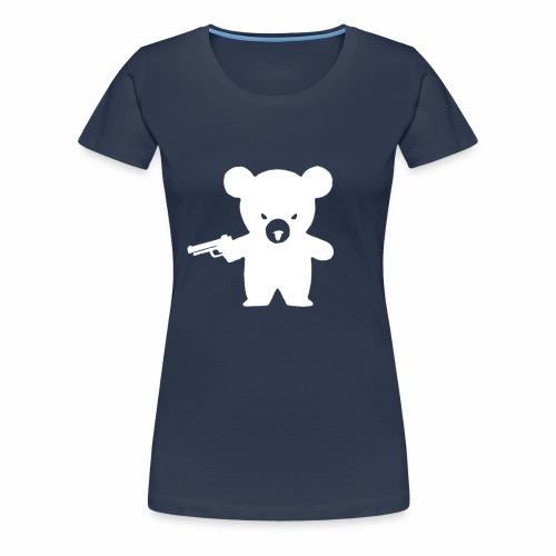 ausgeplüscht! filled - Frauen Premium T-Shirt