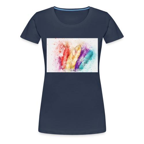 Feder - Frauen Premium T-Shirt