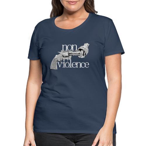 NON-VIOLENCE - Premium-T-shirt dam