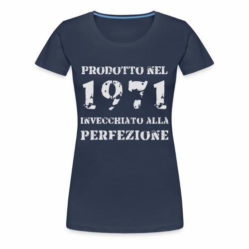 Prodotto Invecchiato 1971 - Flock - Maglietta Premium da donna