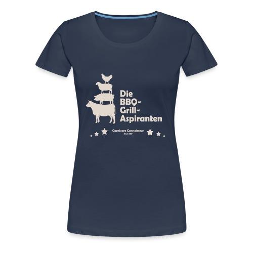 Die BBQ-Grill-Aspiranten - Grill Shirt - Frauen Premium T-Shirt