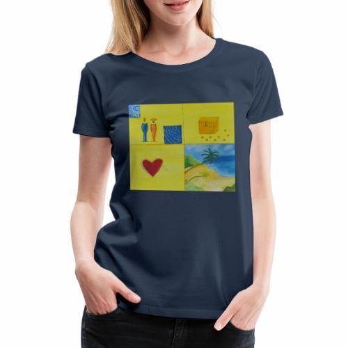 Viererwunsch - Frauen Premium T-Shirt