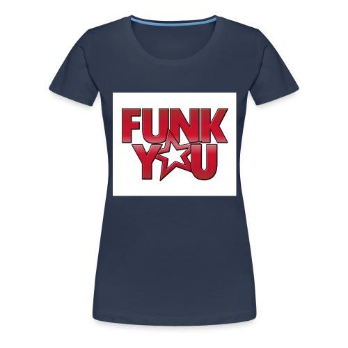 fy_logo_bg_weiss_fr_red - Frauen Premium T-Shirt