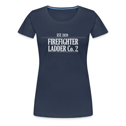 Firefighter Ladder Co. 2 - Dame premium T-shirt