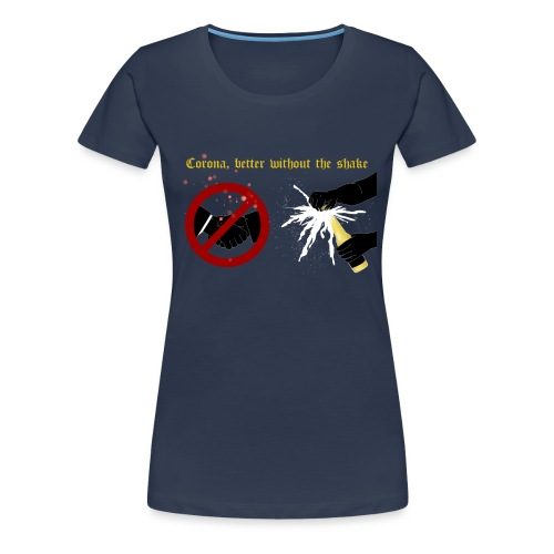 corona - Premium-T-shirt dam