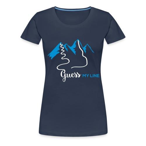 GUESSMYLINE - Frauen Premium T-Shirt