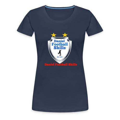 Daniel Football Skills - Women's Premium T-Shirt
