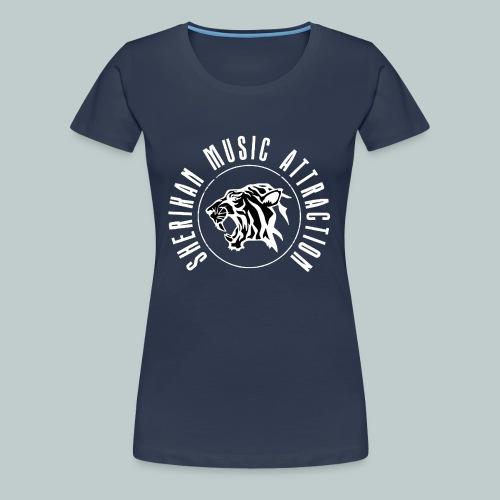 The Sherikan Music Attraction logo - Premium-T-shirt dam