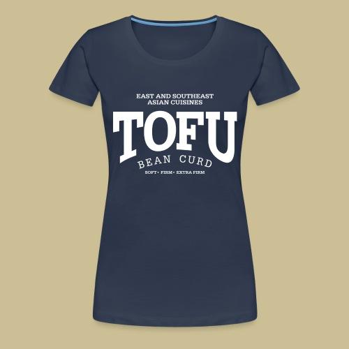 Tofu (white) - Frauen Premium T-Shirt