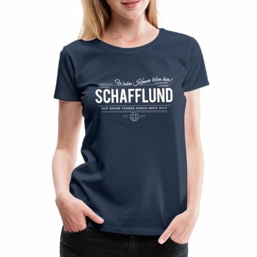 Schafflund - für Kenner 2 - Frauen Premium T-Shirt