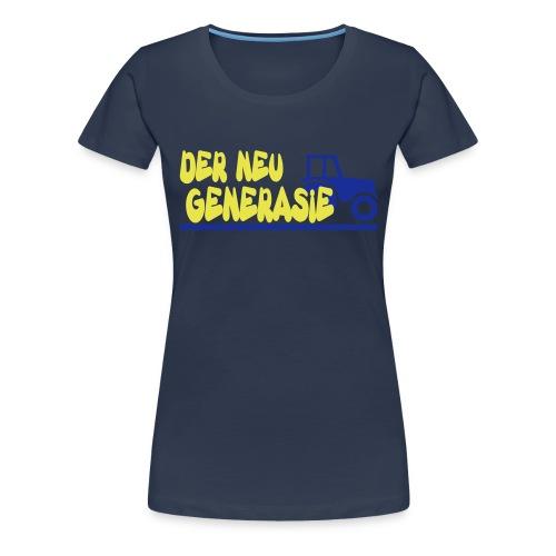 wim underlined - Vrouwen Premium T-shirt