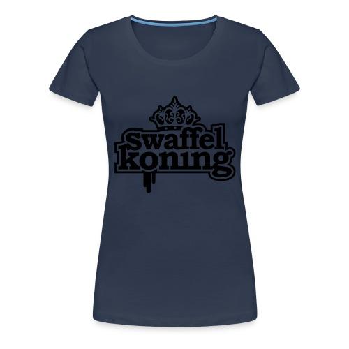 SwaffelKoning - Vrouwen Premium T-shirt