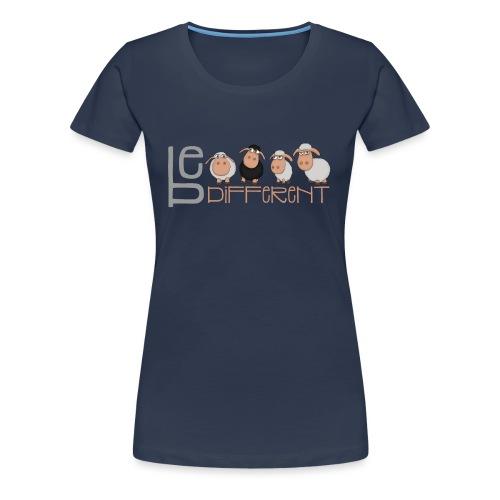 Kleine Be different Schafe - Einzigartig & anders - Frauen Premium T-Shirt