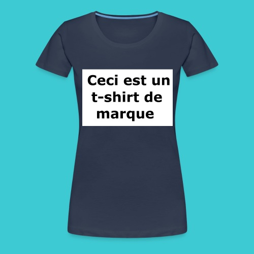 t-shirt2 - T-shirt Premium Femme
