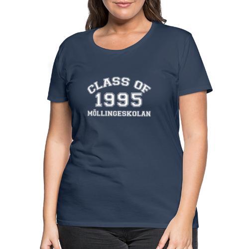 Class95Vit - Premium-T-shirt dam
