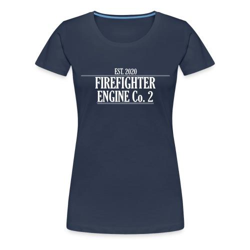Firefighter ENGINE Co 2 - Dame premium T-shirt