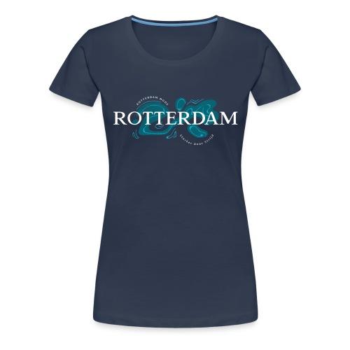 Rotterdam Mode - Sterker door strijd - Vrouwen Premium T-shirt
