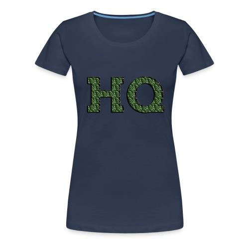 HQ LOGO 4 - Vrouwen Premium T-shirt