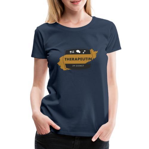 Therapeutin im Dienst - Frauen Premium T-Shirt