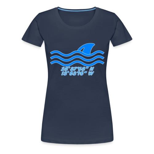 Koordinaten - Frauen Premium T-Shirt