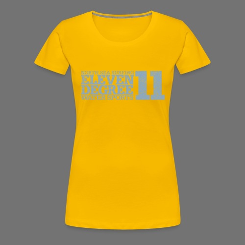 eleven degree light blue (oldstyle) - Women's Premium T-Shirt