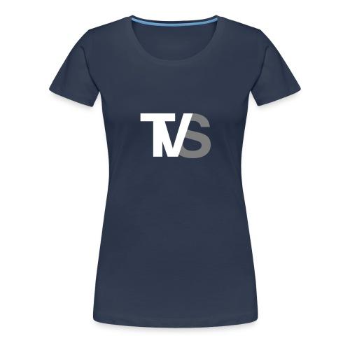 TVS Weiß/Grau - Frauen Premium T-Shirt