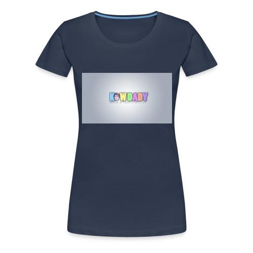 Logo KowDady - T-shirt Premium Femme