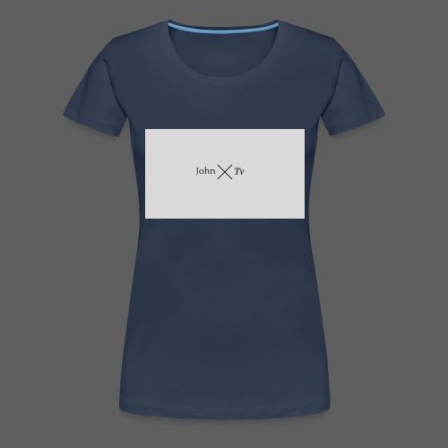 john tv - Women's Premium T-Shirt