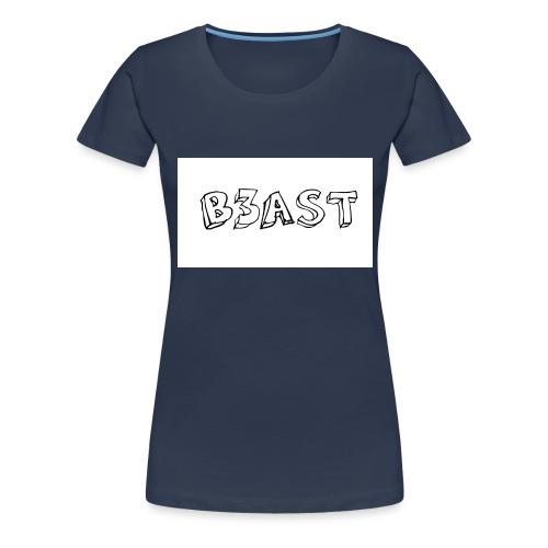 B3AST Mouse Pad - Women's Premium T-Shirt