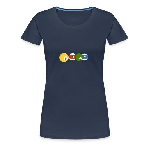 T-shirt Billard Polo - T-shirt Premium Femme