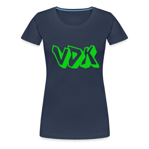 Vdk pet - Vrouwen Premium T-shirt