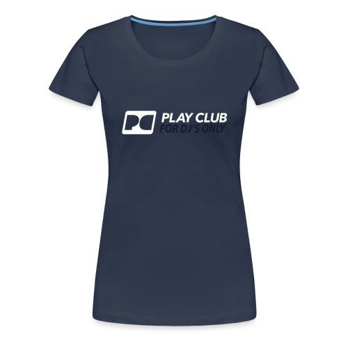 logo pcr rgb 2600x900 music group05 for djs only - Women's Premium T-Shirt
