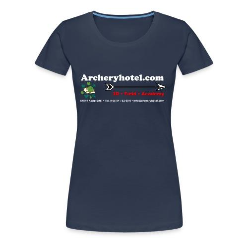 shirt_ruecken - Frauen Premium T-Shirt