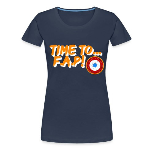 Time to French Aircraft Photographers - T-shirt Premium Femme