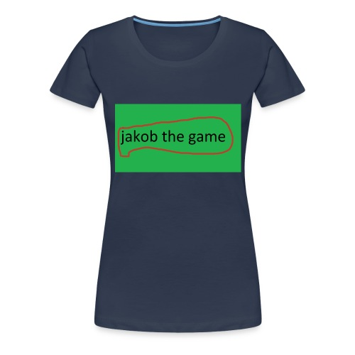 jakob the game - Dame premium T-shirt