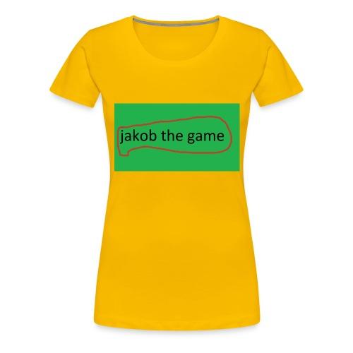 jakob the game - Dame premium T-shirt