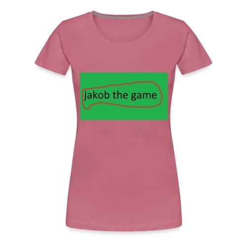jakobthegame - Dame premium T-shirt