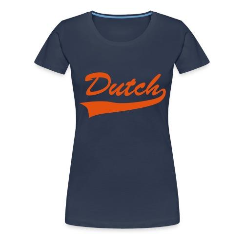 Dutch sweater - Vrouwen Premium T-shirt