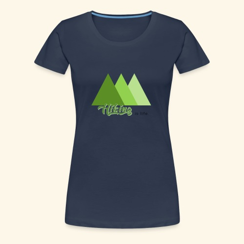 hiking - T-shirt Premium Femme
