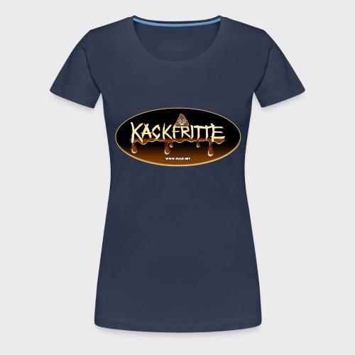 Kackfritte - Frauen Premium T-Shirt