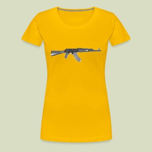AK - Naisten premium t-paita