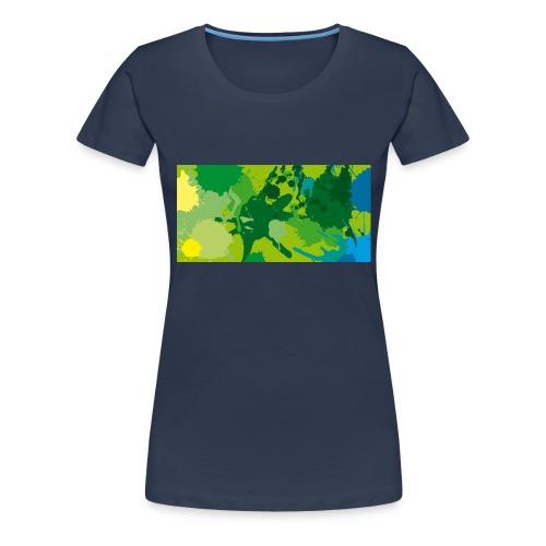 Verde - Camiseta premium mujer