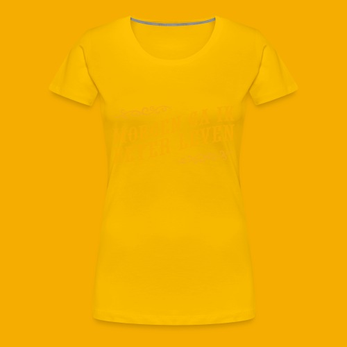tshirt yllw 01 - Vrouwen Premium T-shirt